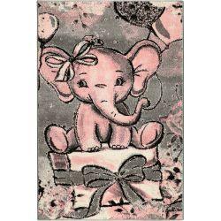Detský koberec Playtime 4841A ružový
